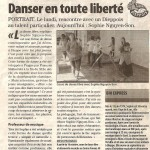 article paru dans Paris Normandie du 5 10 2011